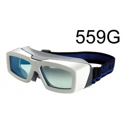 Laser safety goggle for telecom use