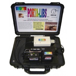 Portable low cost analyzer LIBS