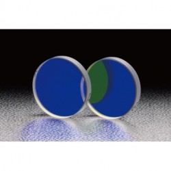 Wide Incidence Dielectric Mirror, D: 25.4 mm, t: 5 mm, Dielctric, S-D: 10-5, Lambda/10