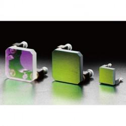 Frameless Mirror Unit, D: 49×49×8.5 mm, t: 8.5 mm, Dielctric, S-D: 20-10, Lambda/10