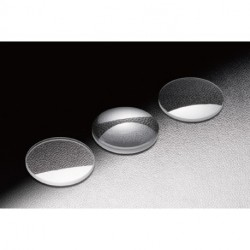 Plano Convex Lens, D: Ø 25.4 mm, f: 30mm, Uncoated, SiO2