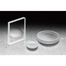 BK7, AxB: 25x25mm, t: 5 mm, S-D: 10-5, Uncoated, Lambda, Square