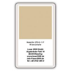 IR-Sensor card, 700 - 1400 nm, T, Orange