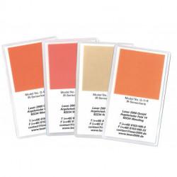 IR-Sensor card with concentric crosshairs, 700 - 1400 nm, R, Orange