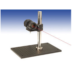 Angle measuring system with large aperture