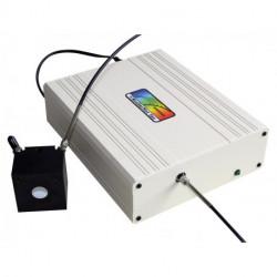 High Resolution fiber optic spectrometer